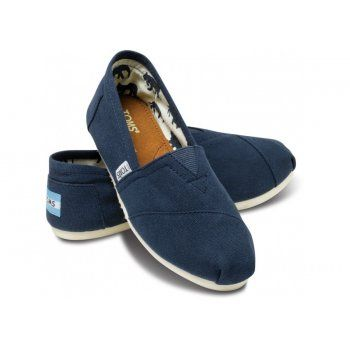 Toms Toms Womens Classic Canvas Shoe in