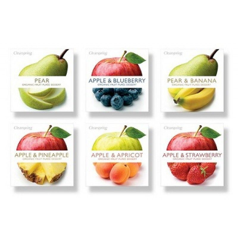 b76dbe3a790a91 Organic Fruit Purée (Apple Strawberry) 2 x 100g - BabyOnline HK ...