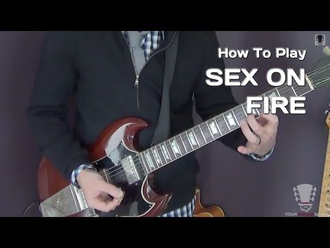 Sex On Fire Chords By Kings Of Leon Electric Guitar Lesson