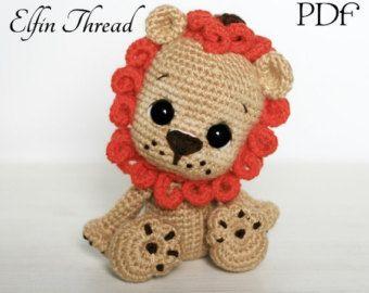 Amigurumi Leon : Crochet pattern lion amigurumi amigurumi doll pattern león