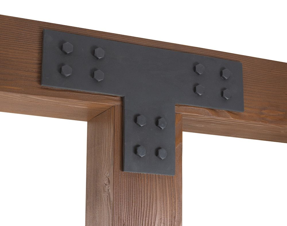 Wood beam with clavos google search historical simpson for Old world traditions faux beams