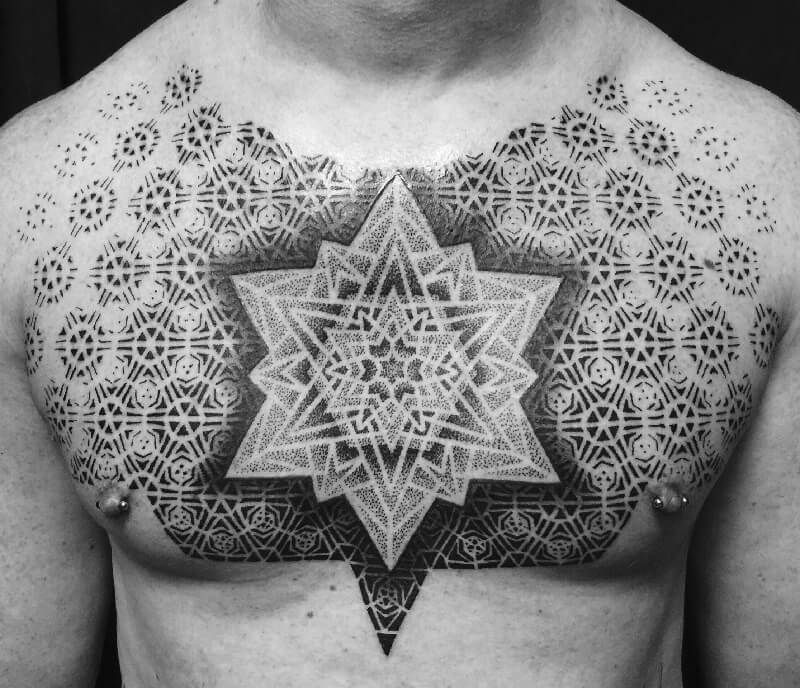 30 Mind Blowing Examples Of Geometric Designs: Geometric Tattoos With Advanced Spiritual