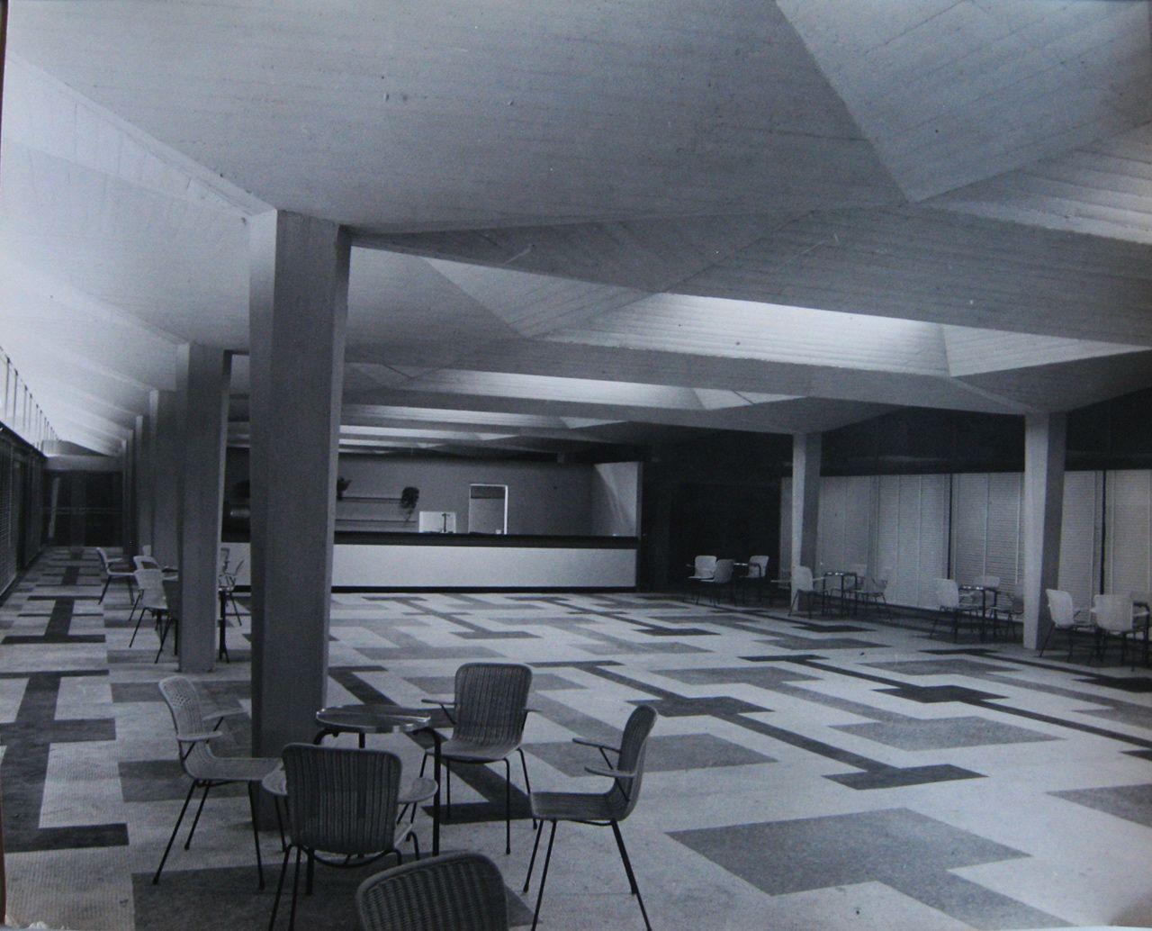 Sergio Musmeci, Sala ristorante dello Stadio del Nuoto, Roma 1959, Archivio Musmeci, Collezione MAXXI Architettura
