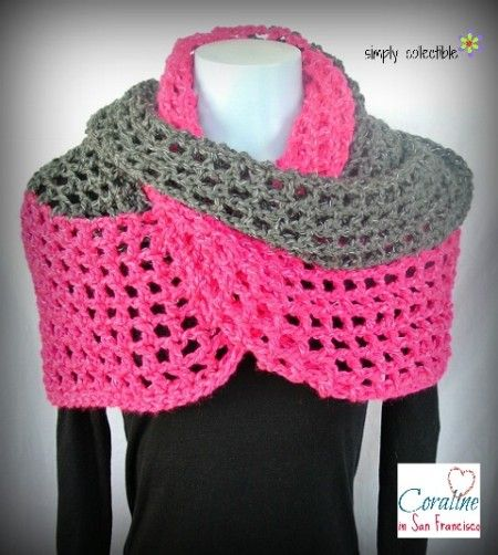35 Popular Crochet Patterns for Scarves and Cowls   Crochet Scarves ...