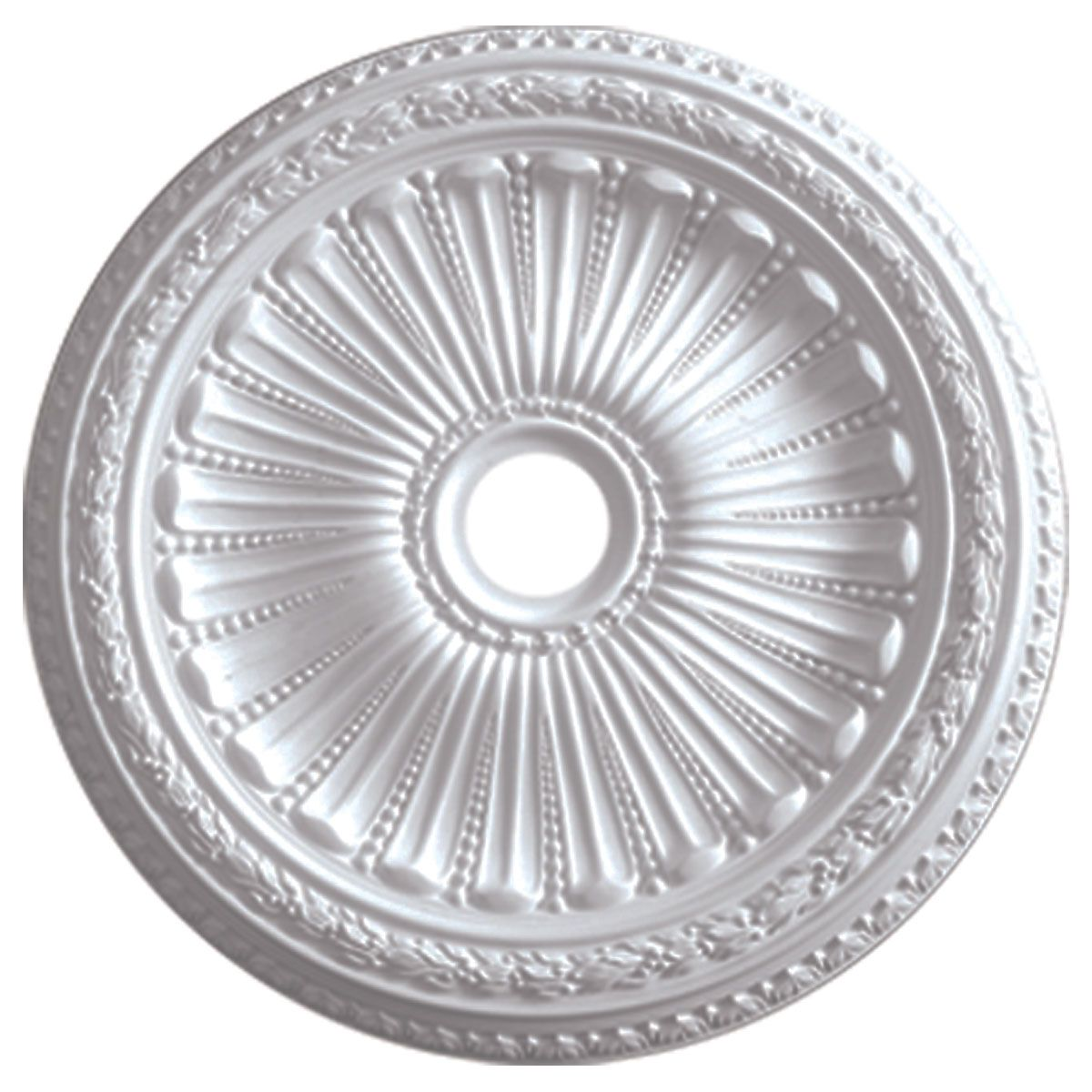 Acanthus Ceiling Medallion Solid Urethane Maximum Durability Detail Best New