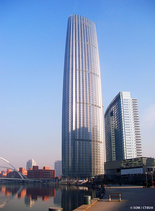 Global Financial Center - SOM - Tianjin