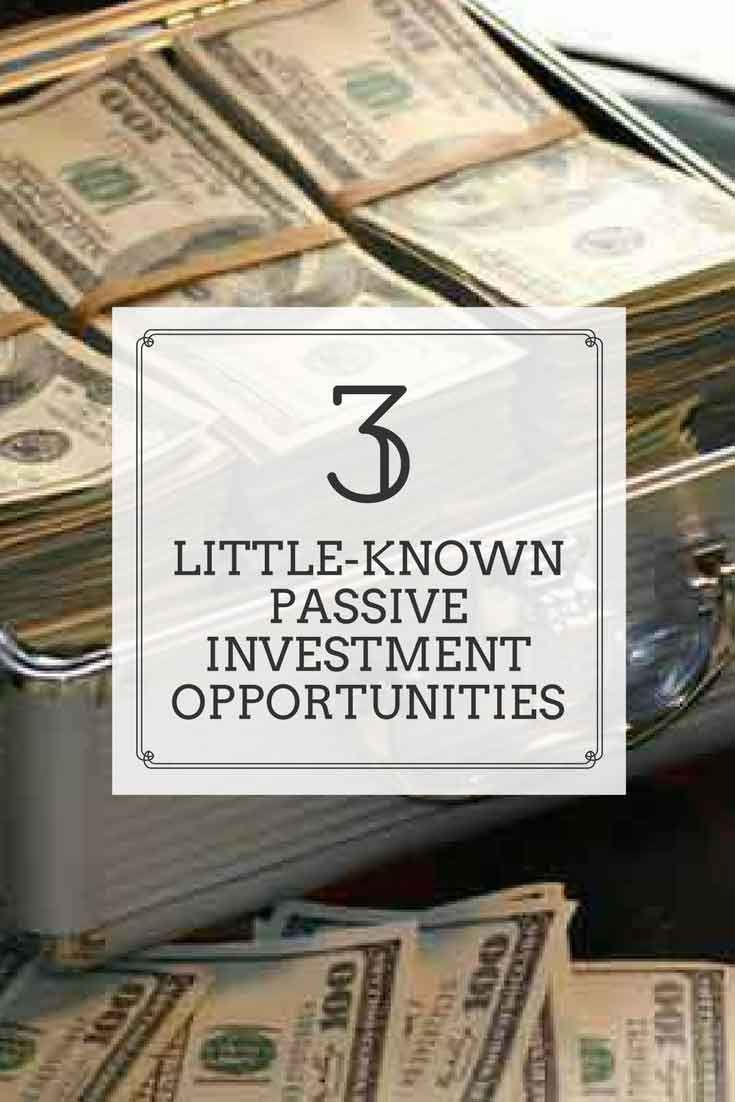 This article explains 3 little-known passive investing opportunities for the common investor to earn superior returns over the medium & long-term.
