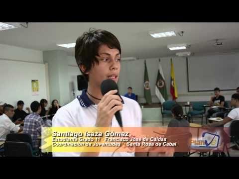 Santiago Isaza Gomez · Líder Juvenil
