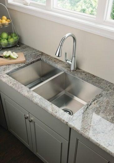 Ascent Moen Kitchen Faucet For Double Sinks Best Moen Kitchen Faucet Collection