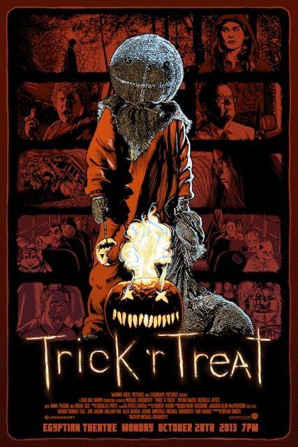 Risultati immagini per Trick 'r Treat - La vendetta di Halloween poster