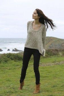 Jersey de La Fee Maraboutee y jeans de Lío de Faldas