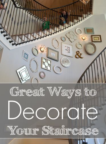 Staircase Wall Decor 10 ways to make your staircase less boring | staircases and decorating