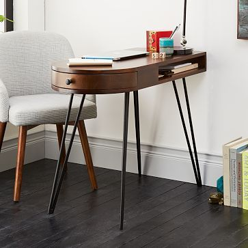 Pencil Desk West Elm Furniture Home Decor Interior