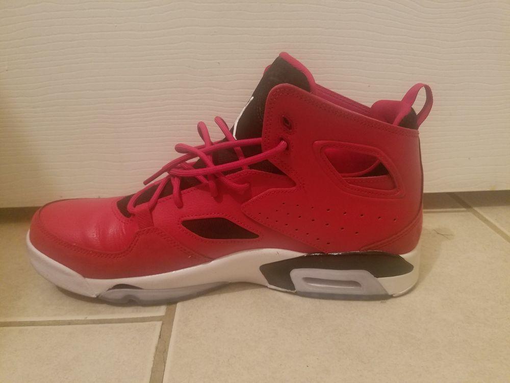 765aa71430c72c Jordan Flight Club  91 Gym Red White-Black (555475 600) . Preowned ...