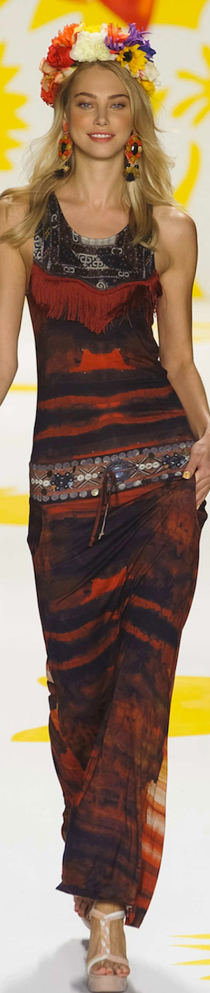 SPRING 2015 RTW......featuring Desigual Pinned by Maria via LookandlovewithLolo