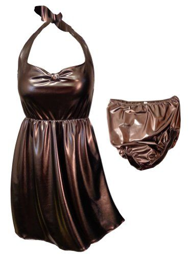 76f48d4d8a942 Metallic Brown Mocha Print 2 Piece Halter Style Plus Size Supersize Fashion  Bug Swimdress www.fashionbug.us