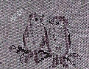 free cross stitch birds