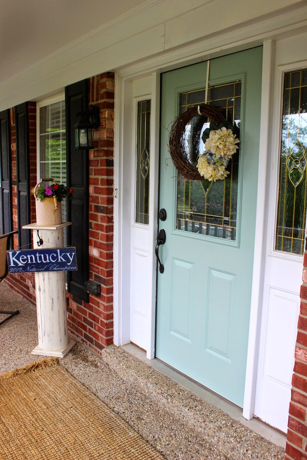 Field Of Cans Home Sweet Home The Front Door Front Door House Front Door Sweet Home
