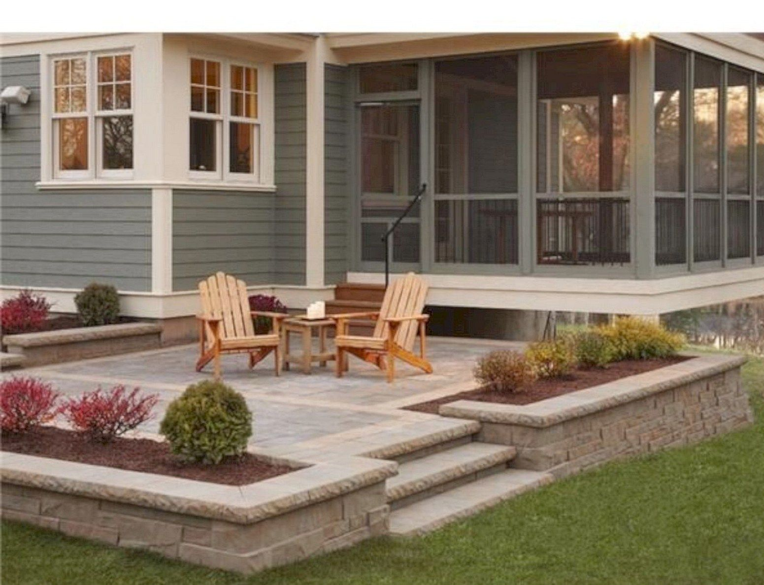 80 Farmhouse Backyard Deck Design Ideas Remodels 13