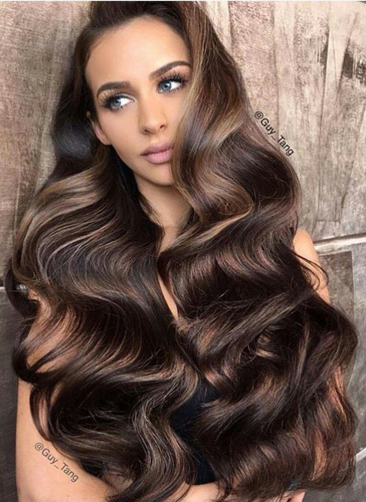 big wavy voluminous hair | hairstyles | pinterest | long black hair