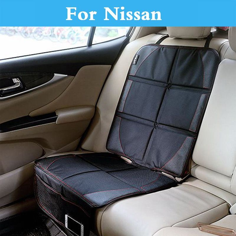 AntiSlip auto Seat Protector Cover Mat Storage Pocket Bag For Nissan ...