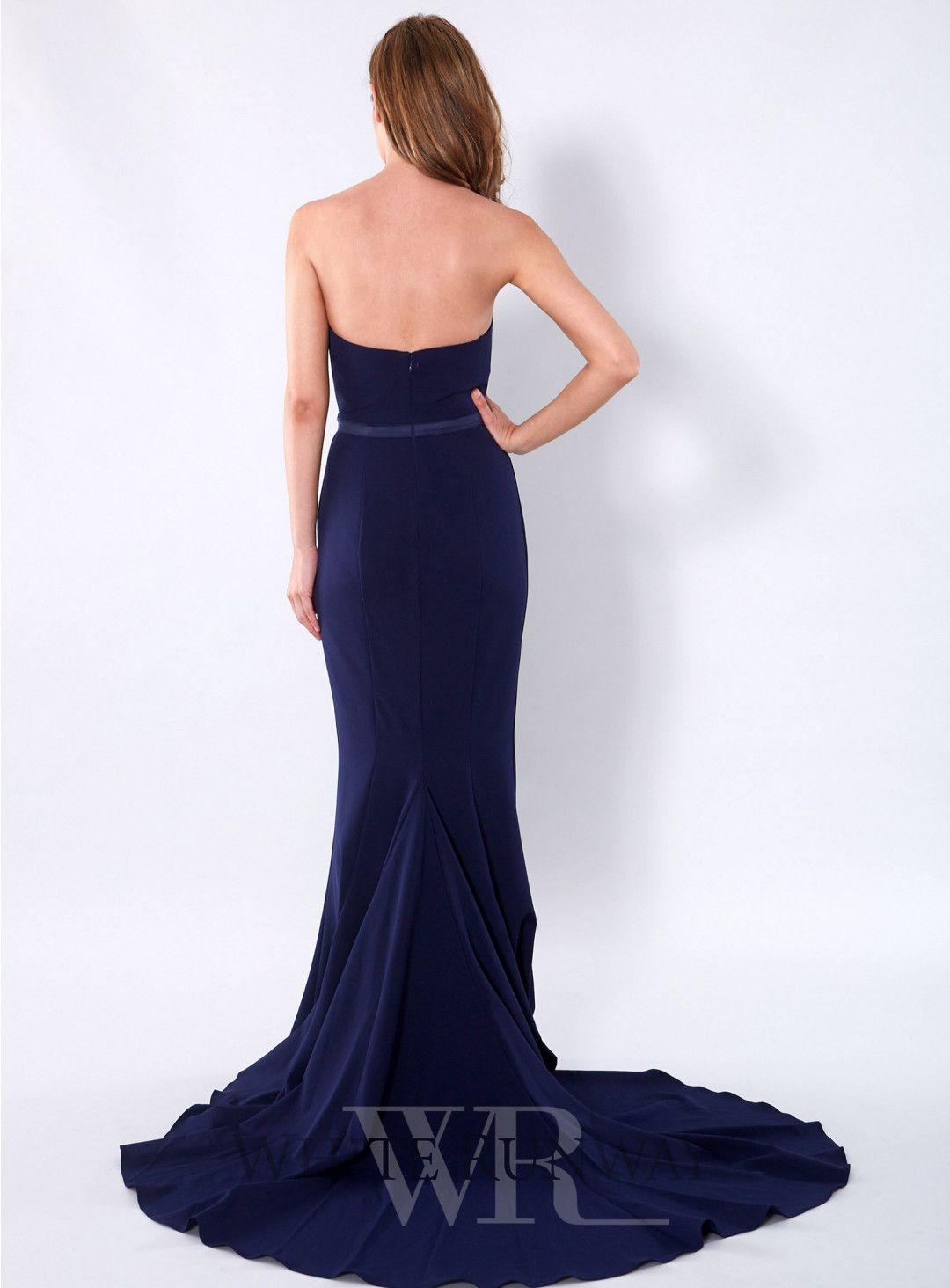Navy Arianna Dress Arianna Dress Dresses Backless Dress Formal [ 1464 x 1080 Pixel ]