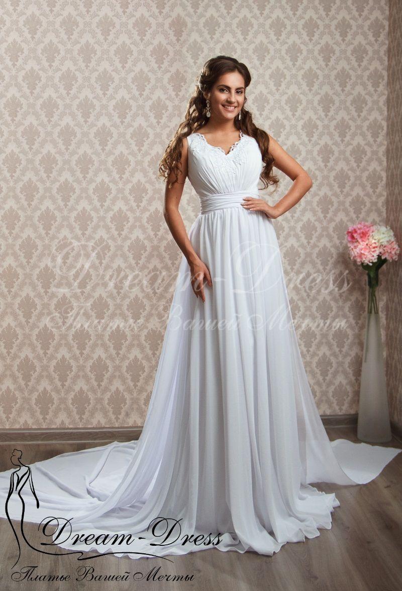 28276de3155 Florence   Свадебные платья   Каталог товаров Свадебное платье в греческом  стиле с открытой спинкой