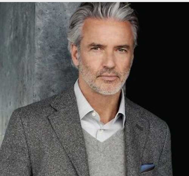 Long Faceted Layer Older Mens Hairstyles Mens Grey Hairstyles