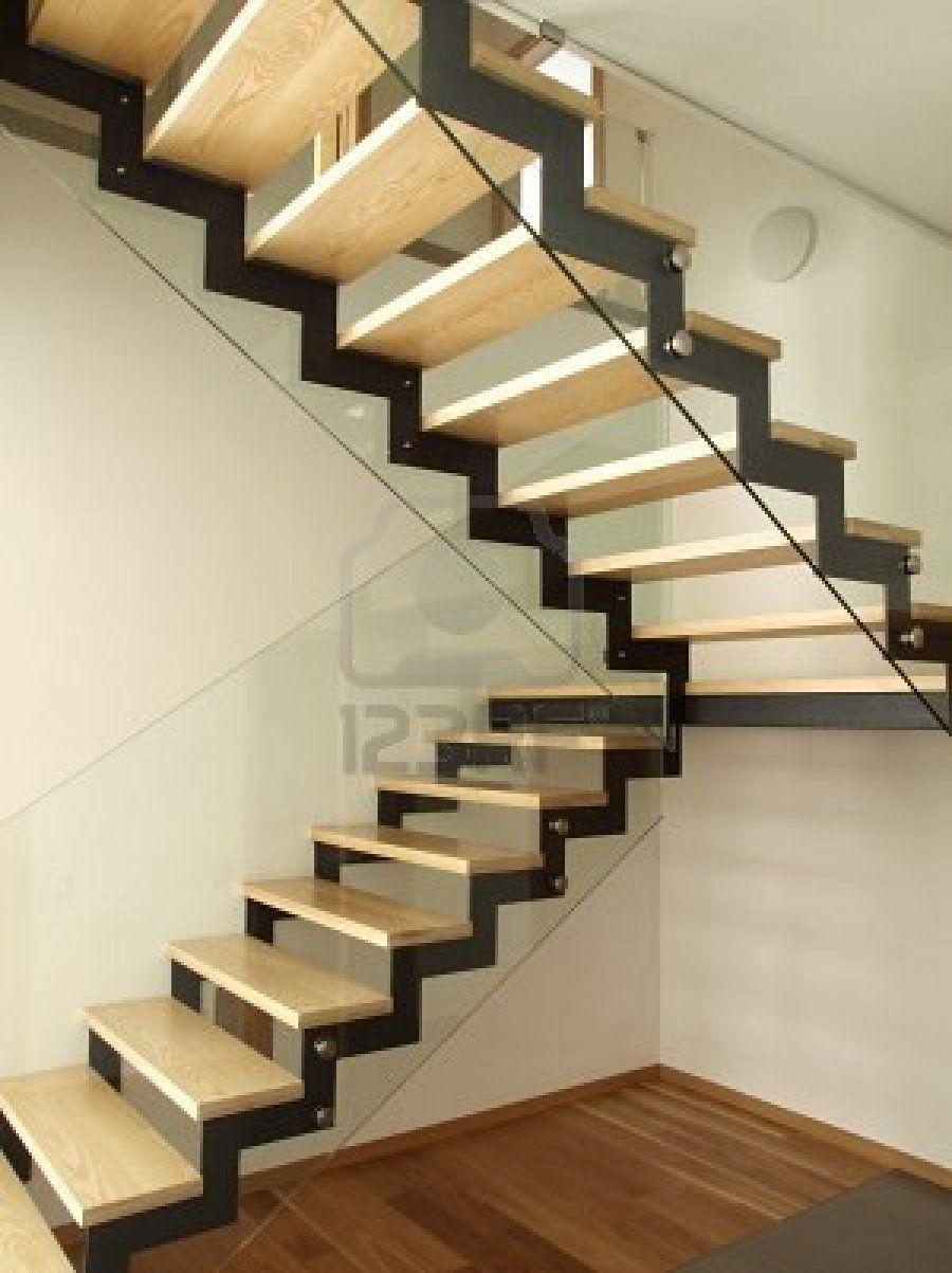 Escaleras metalicas para interiores buscar con google - Escaleras para casas modernas ...