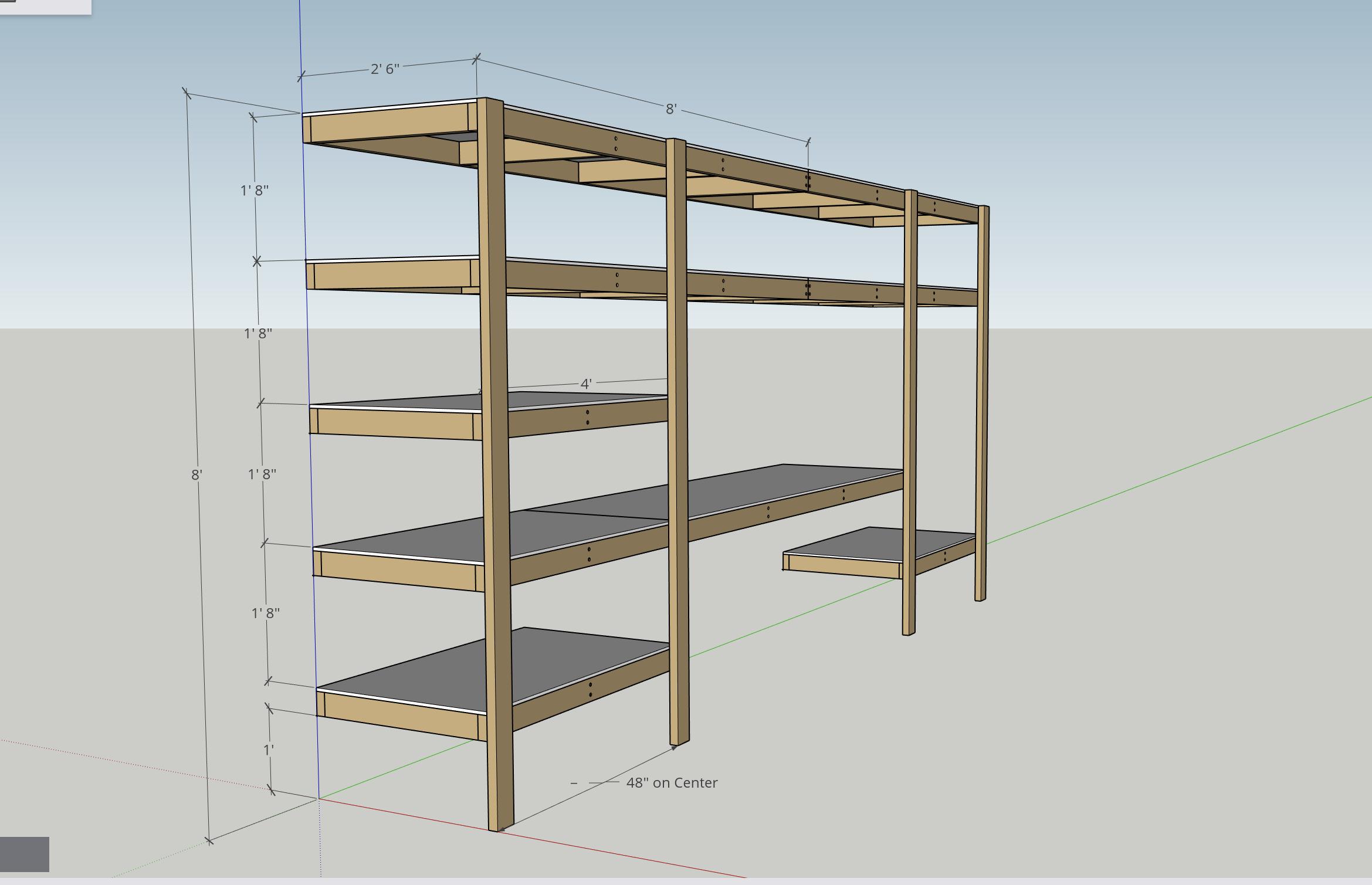 DIY Garage Shelves Plan Modern Builds in 2019 Diy