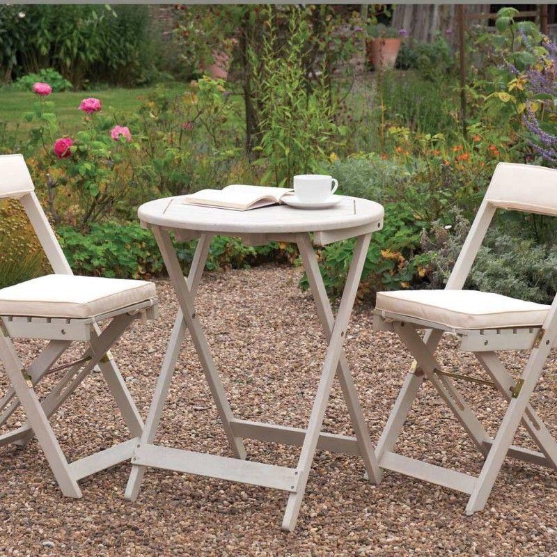 Small Outside Table And Chairs Terrassen Deko Tisch Und Stuhle