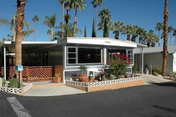 Mobile Home Ideas - Mid-Century Modern Style Inspired ... on