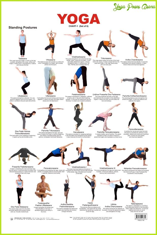 Yoga Poses With Names 16