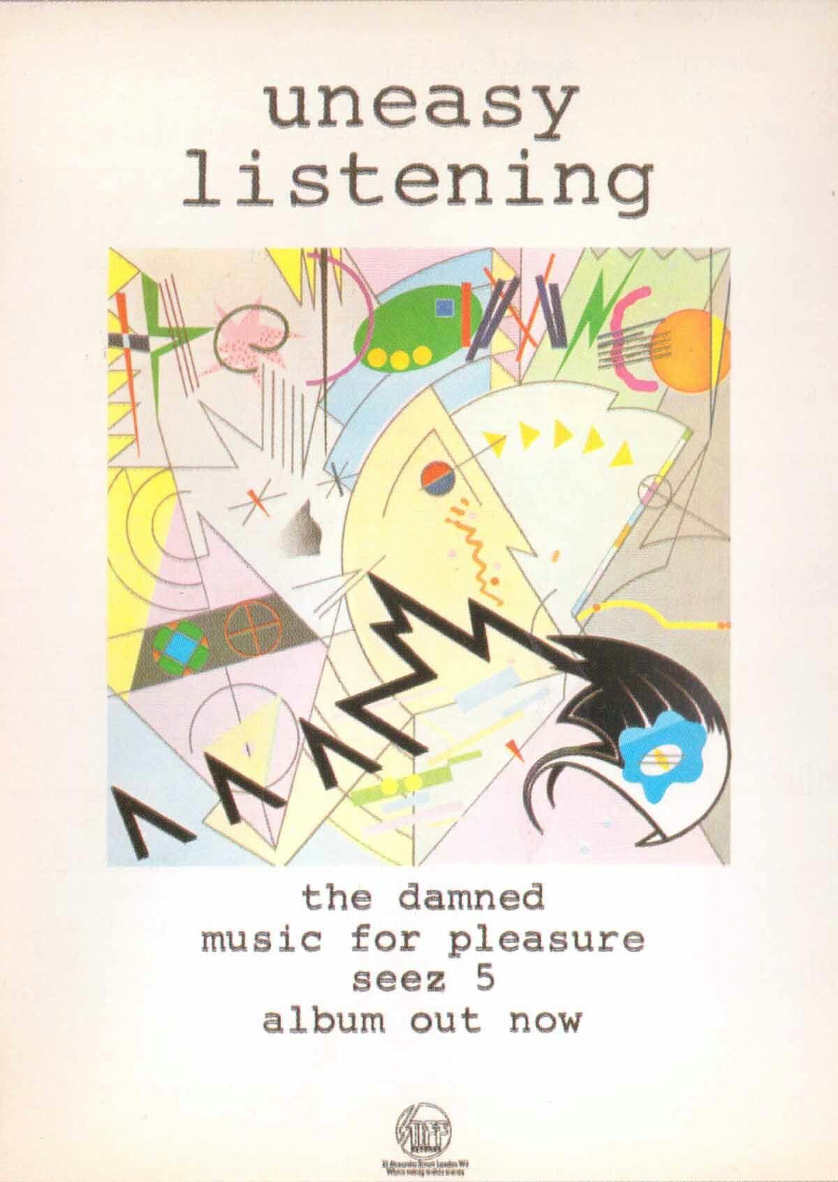 Music for Pleasure The Damned album - Wikipedia