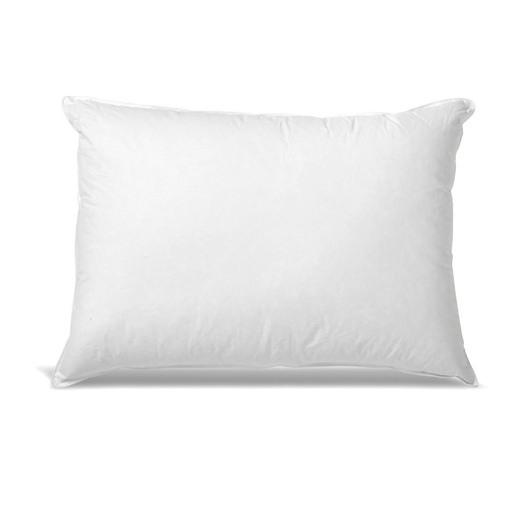 Hotel Style Down And Feather Side Stomach Sleeper Pillow