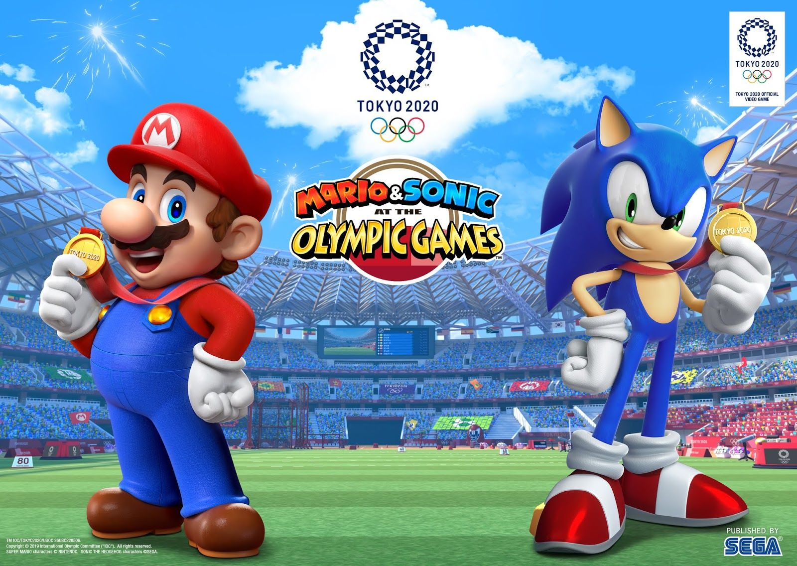 Give The Gift Of Gaming On Nintendo Switch Mario And Sonic At The Olympic Games Tokyo 2020 Tokyo 2020 Olympic Games Mario