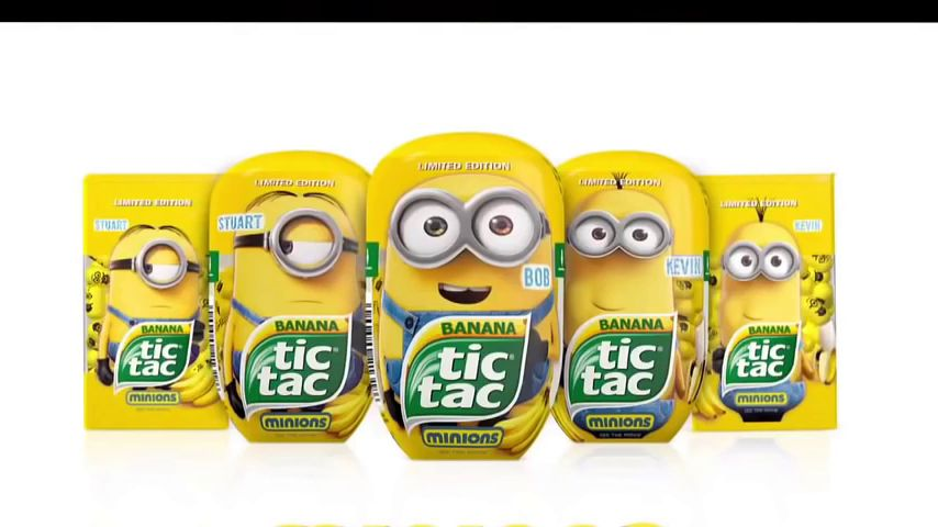 64 tic tac usa produced the limited edition of tic tac minions