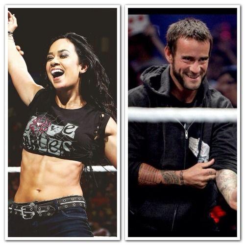 CM Punk and AJ Lee in Real Life | WWE • AJ Lee & CM Punk ...