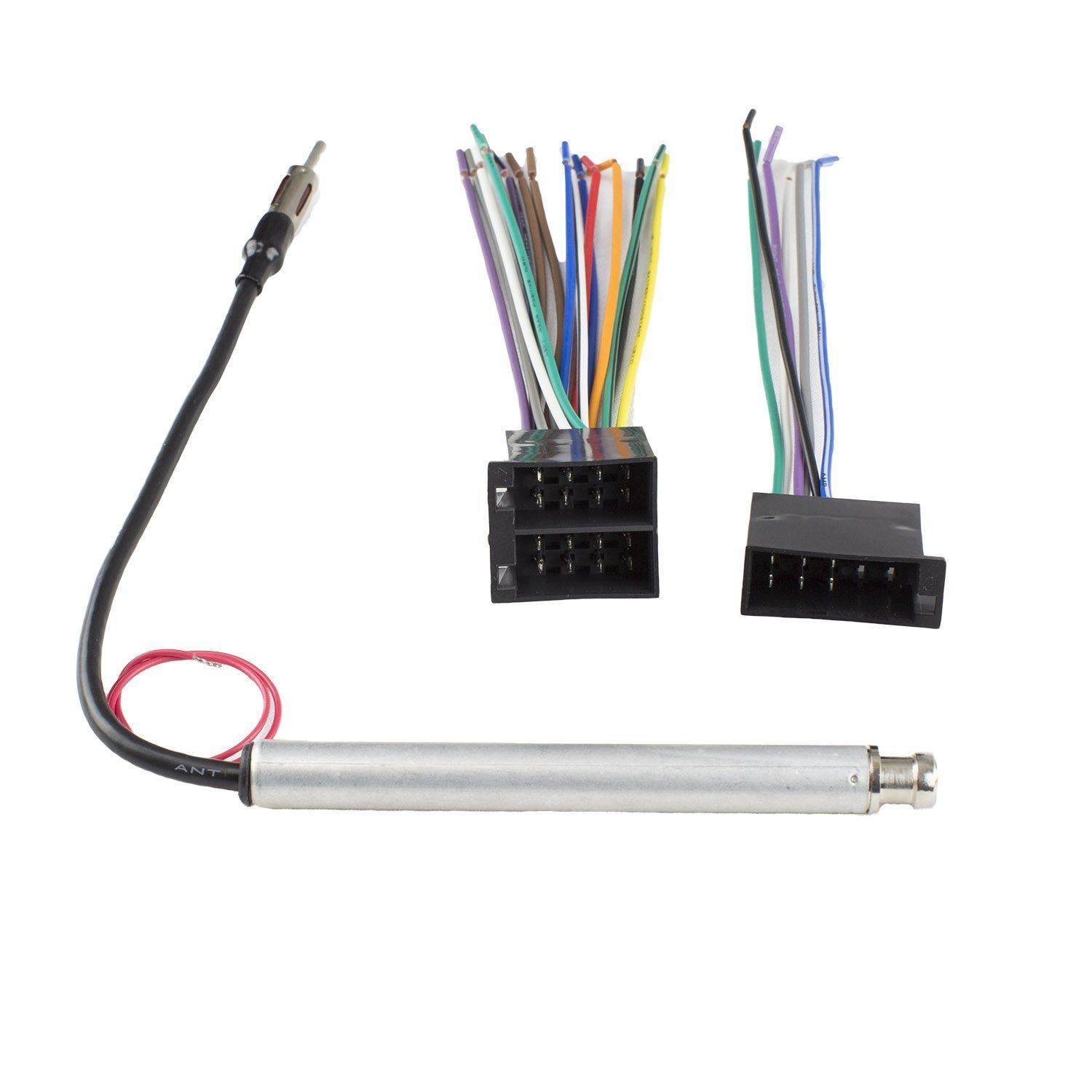 Novosonics VWF-1004+VA8 Volkswagen Wiring Harness and Antenna Adapter For  Vehicles with Non-Amplified or Monsoon systems. Connect an aftermarket  stereo to ...