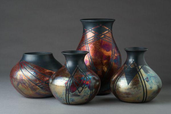 Raku Pottery By Lori Duncan Raku Pottery Raku Clay Pottery
