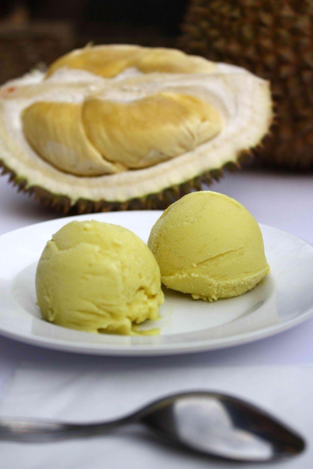 Resep Membuat Es Krim Durian Yang Mudah Dan Enak Durian Merupakan Buah Asli Dari Indonesia Bagi Anda Penggemar Durian Yang Pembuat Es Krim Es Krim Makanan