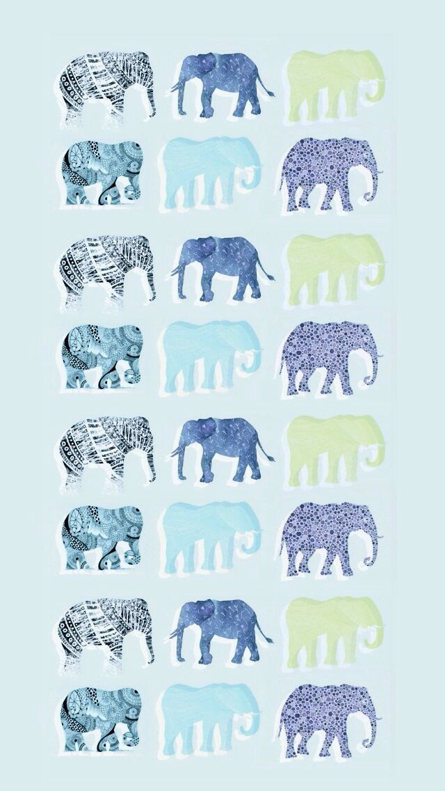 Iphone Wallpaper Elephants Elephant Iphone Wallpaper Elephant Phone Wallpaper Iphone Background Pattern