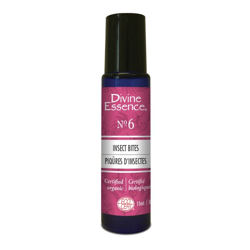 Remedy N.6 Insect Bites Organic, Divine Essence - Take full advantage of the outdoors with this synergistic blend of Lavender – Spike, Lavender Hybrid Super, ...