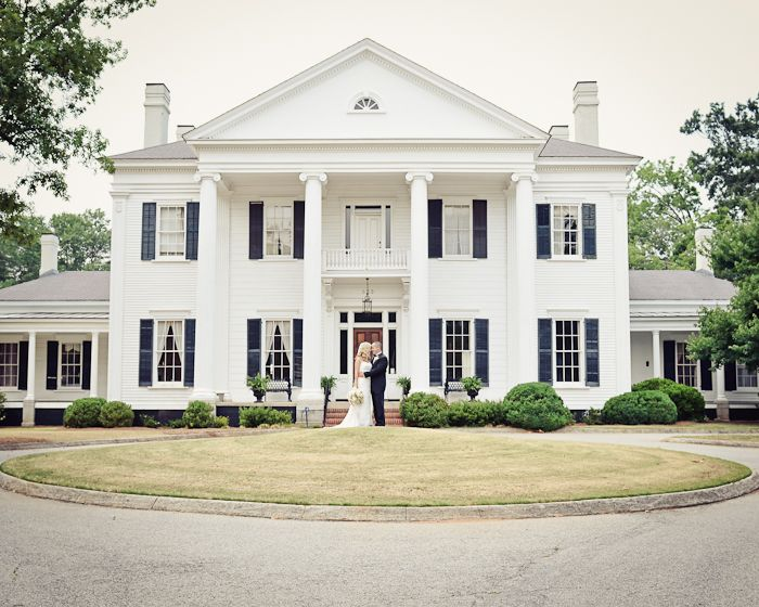 Greek revival for the home pinterest exterior house for Southern architectural styles