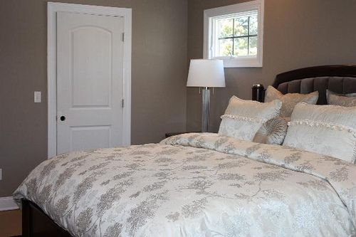 Bedroom Colors Indian real homes] taupe bedroom: benjamin moore 'indian river' | home