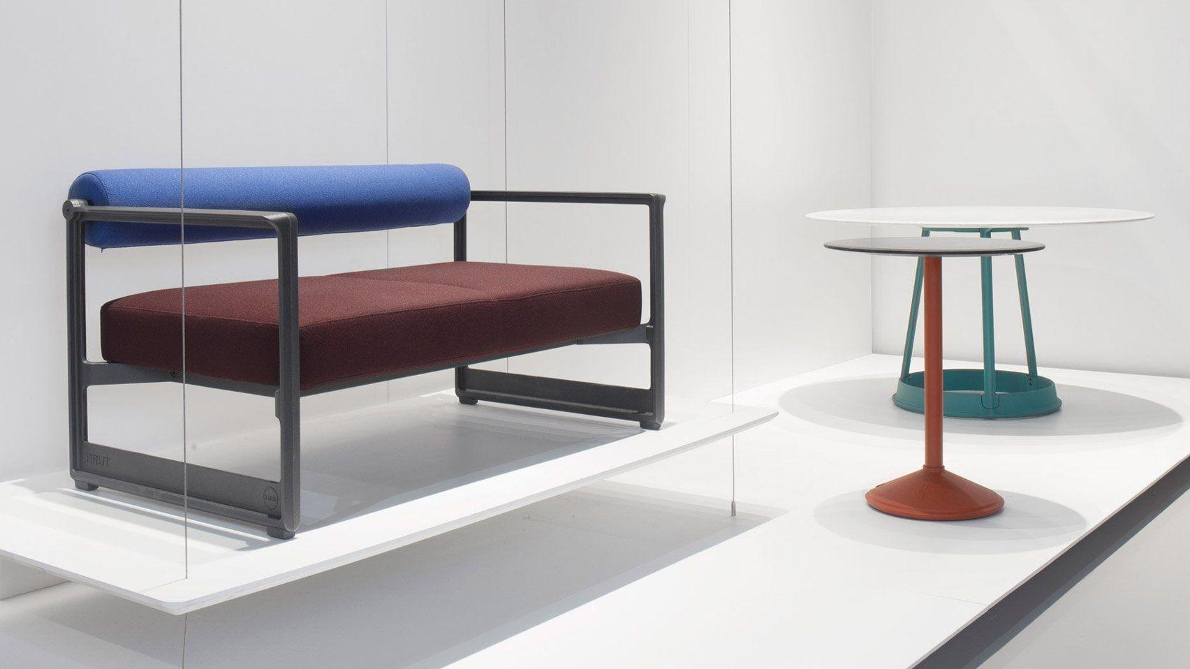 italian furniture brand. German Designer Konstantin Grcic Has Created A Sofa With Machinery-inspired Cast-iron Elements Italian Furniture Brand