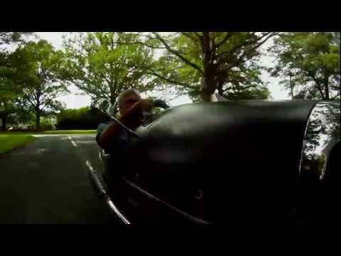 Hear and see what Jay Leno has to say about the 2012 Morgan 3 Wheeler as he takes it on a test drive through Malvern, England.