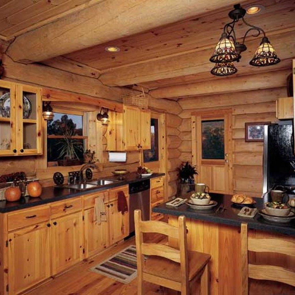 Rustic Pine Kitchen Cabinets: Pine Kitchen Cabinets, Blue