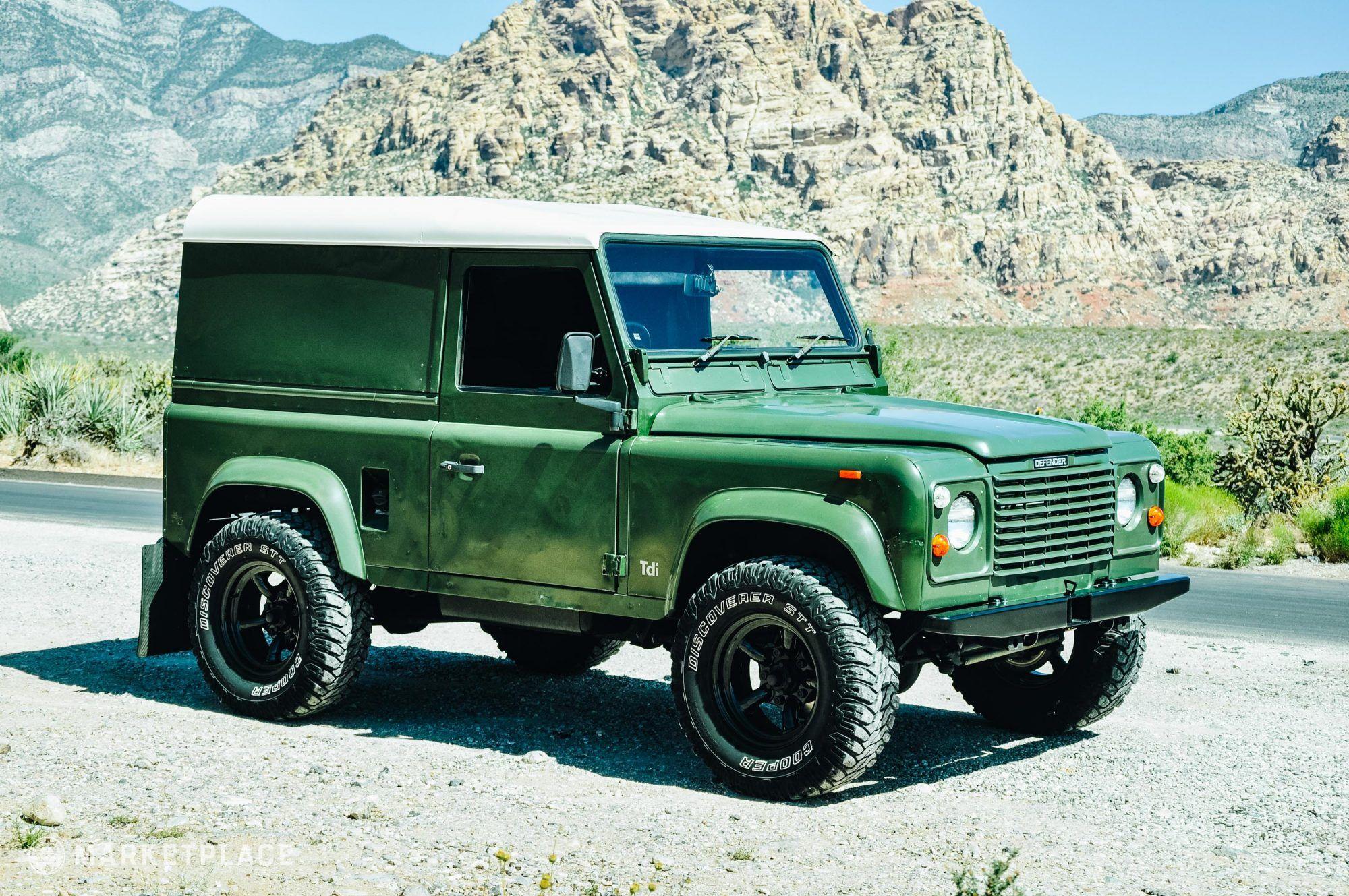 1990 Defender 90 200 Tdi Petrolicious Defender 90 Land Rover Defender Land Rover