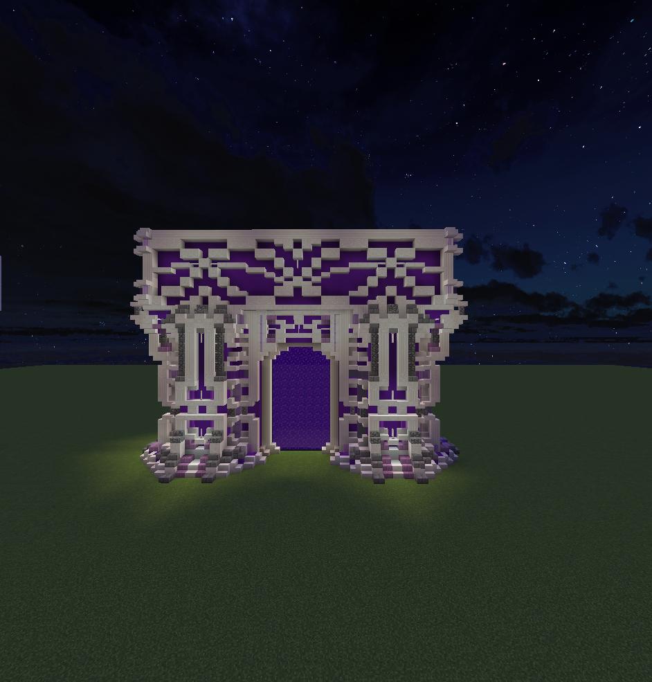 Portal Design For My Nether Hub